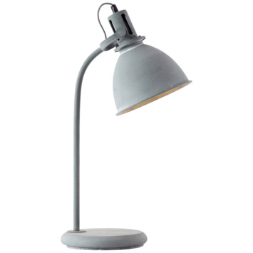 Lampe de table Jesper Brilliant gris béton