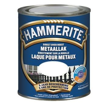 Laque pour métal Hammerite brillant gris argent 750 ml