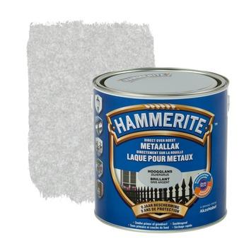 Hammerite metaallak hoogglans zilvergrijs 2,5 L