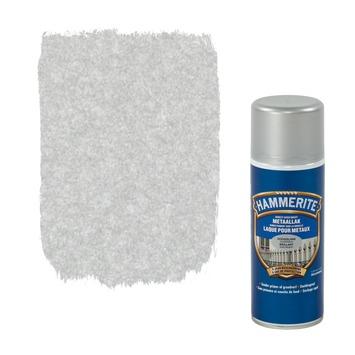 Hammerite metaallak hoogglans zilvergrijs 400 ml