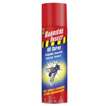 Anti insectes volants K.O. Compo aérosol 400 ml