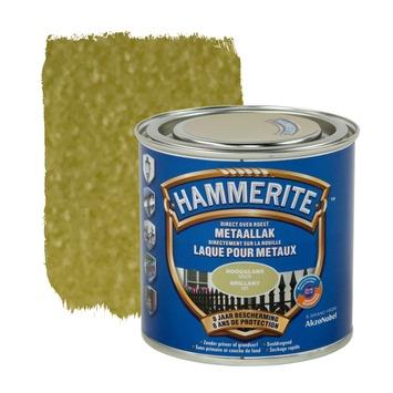 Hammerite metaallak hoogglans goud 250 ml