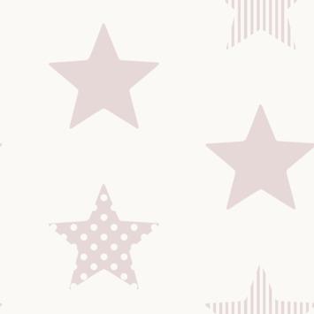 Vliesbehang Superster Roze (108560)