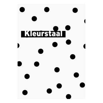 Behangstaal vliesbehang Confetti zwart-wit 108562