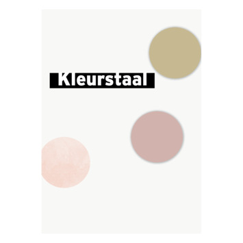 Behangstaal vliesbehang polka stippen roze-goud 108565