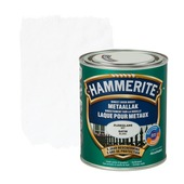 Hammerite metaallak zijdeglans wit 750 ml