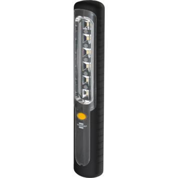 Lampe torche LED rechargeable Brennenstuhl avec dynamo, crochet, aimant, USB