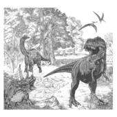 Papier peint photo Dino (111396)