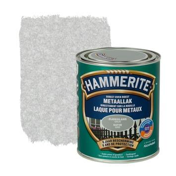 Laque pour métal Hammerite satin gris 750 ml