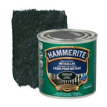 Hammerite metaallak zijdeglans donkergroen 250 ml