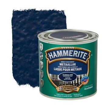 Hammerite metaallak zijdeglans donkerblauw 250 ml