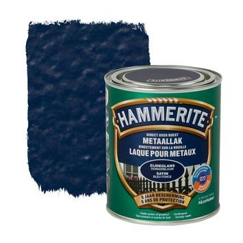 Hammerite metaallak zijdeglans donkerblauw 750 ml