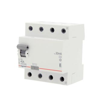 Disjoncteur différentiel Legrand 4P 40 A 30 mA