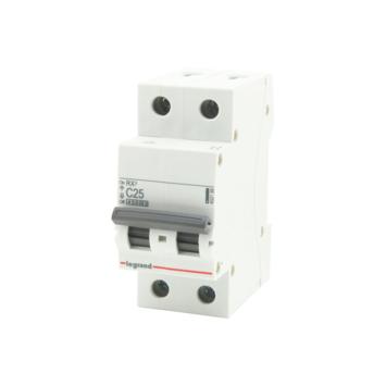 Disjoncteur modulaire Legrand 2 pôles 25 A