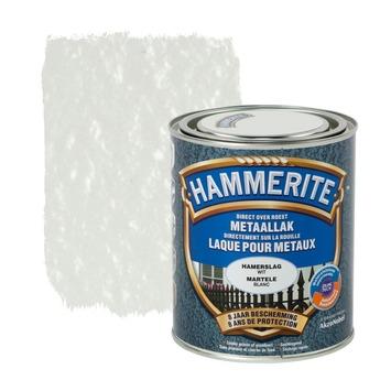Hammerite metaallak hamerslag wit 750 ml
