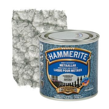 Hammerite metaallak hamerslag zilvergrijs 250 ml