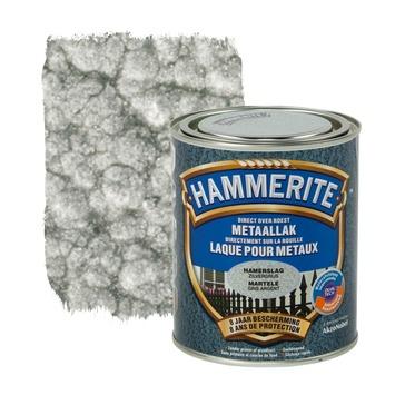 Hammerite metaallak hamerslag zilvergrijs 750 ml
