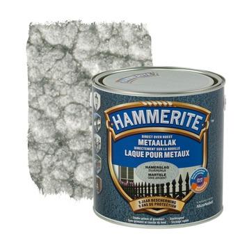 Hammerite metaallak hamerslag zilvergrijs 2,5 L