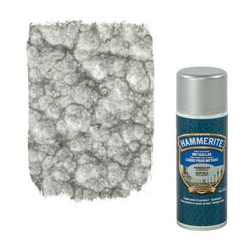 Hammerite metaallak hamerslag zilvergrijs 400 ml