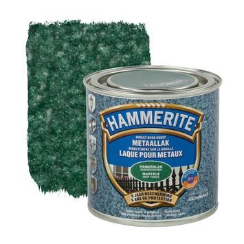 Laque pour métal Hammerite martelé vert foncé 250 ml