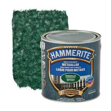 Hammerite metaallak hamerslag donkergroen 2,5 L