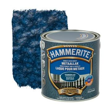 Hammerite metaallak hamerslag donkerblauw 2,5 L