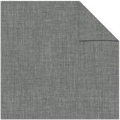 Kleurstaal kant en klaar gordijn linnenlook-grijs 1175