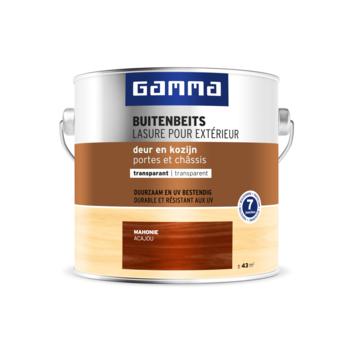 Lasure portes et châssis transparente GAMMA 2,5 L acajou