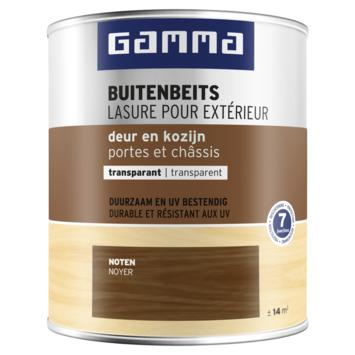 Lasure portes et châssis transparente GAMMA 750 ml noyer
