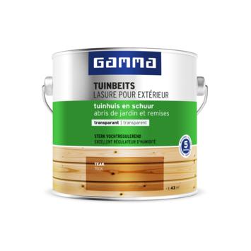 GAMMA tuinhuis transparant 2,5 L teak