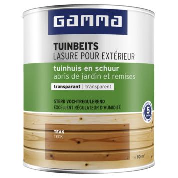 GAMMA tuinhuis transparant 750 ml teak