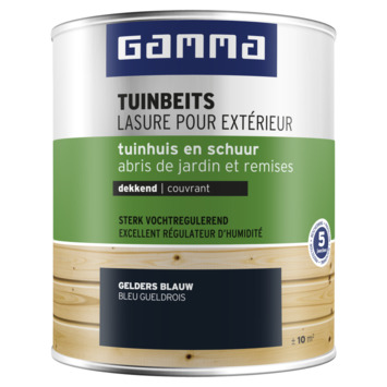 GAMMA tuinhuis kleur 750 ml gelders blauw