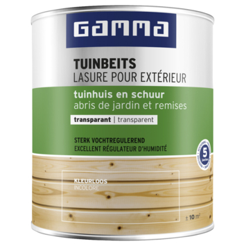 Lasure chalet transparente GAMMA 750 ml incolore