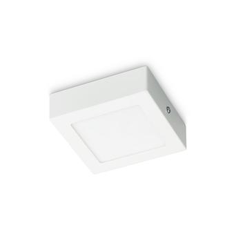 Plafonnier LED Prolight Villo 12 cm 6W 360 lm carré