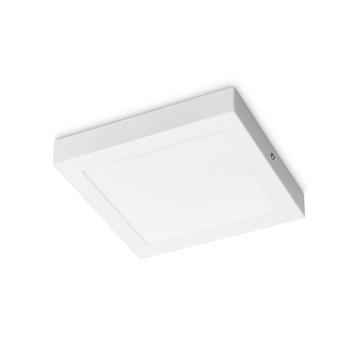 Plafonnier LED Prolight Villo 22,5 cm 18W 1260 lm carré