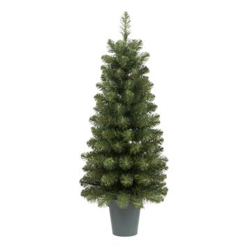 Kunstkerstboom Dakota met pot 100 cm