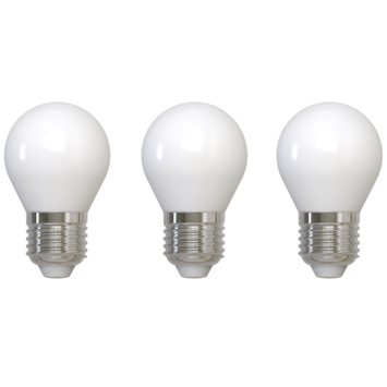 Ampoule globe LED Handson dimmable E27 4W 470 lm lot de 3