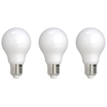 Ampoule poire LED Handson verre dépoli E27 7W 806 lm lot de 3