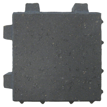 Klinker Beton Waterdoorlatend Zwart 20x20x6 cm - 312 Klinkers / 12,48 m2
