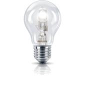 Philips ecohalogeen peerlamp E27 370 lumen 28W = 35W