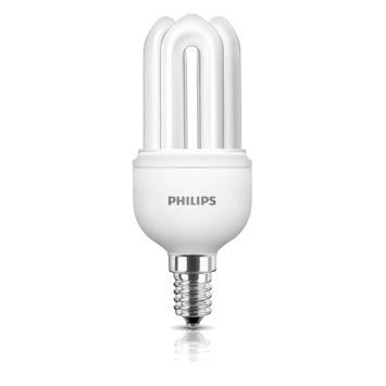 Philips Genie spaar sticklamp E14 600 lumen 11W =  50W