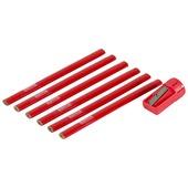 Crayons de menuisier GAMMA 7 pièces