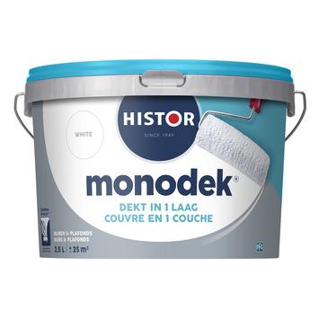 Histor monocouche latex blanc 2,5 litres