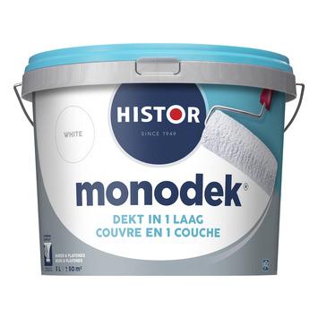 Histor monodek muur- en plafondverf 5 L wit