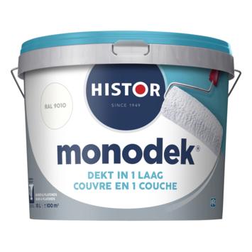 Histor Monodek latex RAL 9010 gebroken wit 10 L