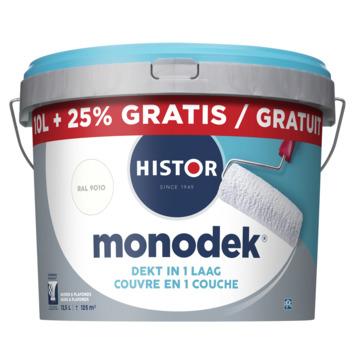 Histor monodek 10 L + 25% RAL 9010