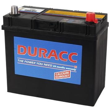 Duracc startaccu 12V 45ah 54523