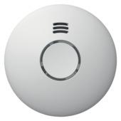 Détecteur de fumée connecté Wifi Qnect- compatible Google Home et Tuya