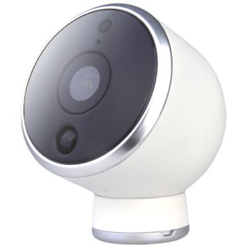 Caméra extérieure connectée rechargeable Wifi Qnect 1080p - compatible Google Home et Tuya