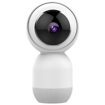 Caméra intérieure orientable connectée Wifi Qnect 1080p- compatible Google Home et Tuya